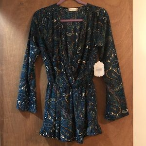 Altard State long sleeve romper